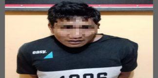 Pelaku MH yang diamankan Resmob Polres Sinjai. (BERITA.NEWS/Muhammad Aswin).