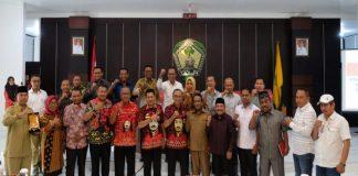 Kunjungan studi banding anggota DPRD Kepulauan Taliabu Maluku Utara di Kabupaten Gowa. (BERITA.NEWS/ACP).