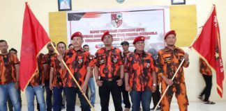 Pengurus Pemuda Pancasila Kota Parepare. (BERITA.NEWS/H Aru).