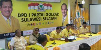 Rapat Pleno DPD Golkar Sulsel. (BERITA.NEWS/KH).