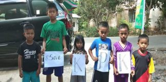 Foto (Facebook) Anak-anak ikut deklarasikan Save KPK. (BERITA.NEWS/IL).