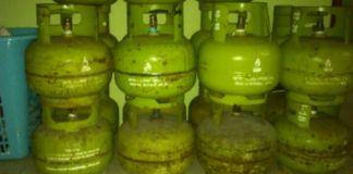 Tabung Elpigi 3 Kg atau yang biasa disebut tabung Melon. (BERITA.NEWS/Muh Ilham).