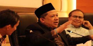Wakil ketua DPR RI, Fahri Hamzah (BERITA.NEWS/Muhammad Srahlin)