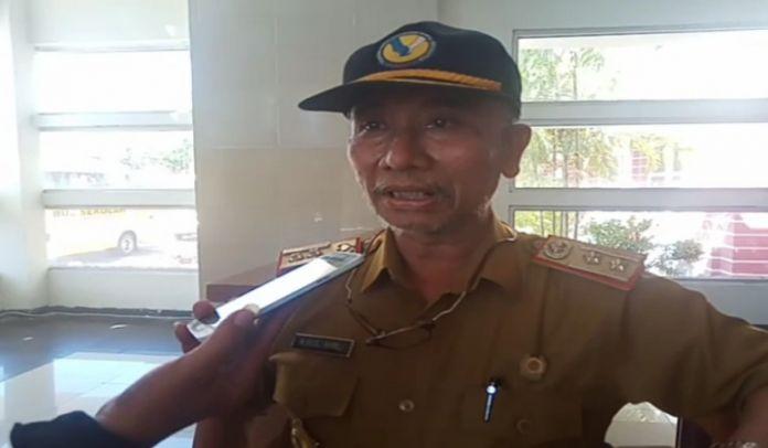 Kadis Sosial Kabupaten Jeneponto Rusli Ramli. (BERITA.NEWS/Muh Ilham).
