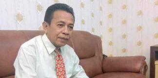 Eks Kepala Biro Pembangunan Setda Provinsi Sulsel Jumras. (Andi Khaerul/BERITA.NEWS)