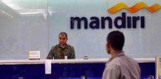 Ilustrasi Bank Mandiri. (INT)