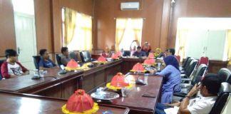 Suasana Rapat Dengar Pendapat (RDP) di ruang rapat Komisi I DPRD Kabupaten Jeneponto. (BERITA.NEWS/Muh Ilham).