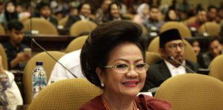 Anggota DPD RI m, Lily Amelia Salurapa (BERITA.NEWS/LIN)