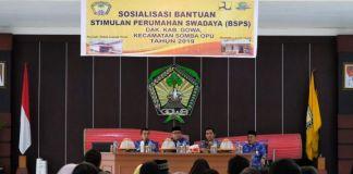 Suasana Sosialisasi Bantuan Stimulan Perumahan Swadaya (BSPS) Kabupaten Gowa. (BERITA.NEWS/Putri).
