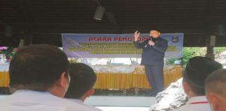 Wakil Bupati Enrekang Asman SE hadir pada Penutupan Diklatsar CPNS. (BERITA.NEWS/Dodo).