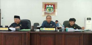 Rapat Paripurna pembentukan dan penetapan pimpinan alat kelengkapan DPRD Kabupaten Pinrang. (BERITA.NEWS).