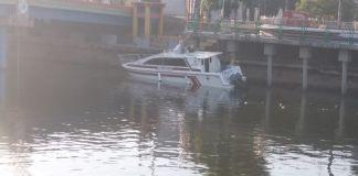 Kondisi Terkini Ambuls Laut yang dikabarkan tenggelam. (BERITA.NEWS/Andi Khaerul).