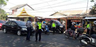 Suasana Ops Zebra 2019 di Jalan panciro, Gowa. (BERITA.NEWS/Putri).