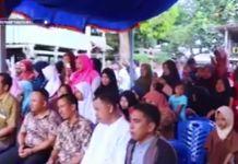 Launching kampung tematik di Kampung Gusung Bantaeng. (BERITA.NEWS/Saharuddin).