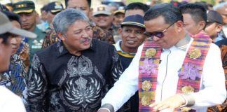 Gubernur Sulsel Hadiri Panen Raya di kabupaten Pinrang. (BERITA.NEWS/Zakaria).