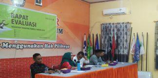 Suasana Rapat KPU Parepare. (BERITA.NEWS/Wahyu Adi Saputra).