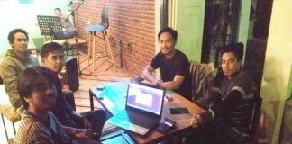 Pemuda Bulukumpa dan beberapa OKP rapat persiapan dialog. (BERITA.NEWS/IL).