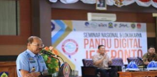 Seminar Nasional dan Loka Karya Pandu Digital di Ruang pola Kantor Bupati Jeneponto. (BERITA.NEWS/Muh Ilham).