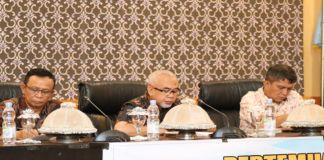 Wakil Bupati Bantaeng saat membuka Rakor dewan ketahanan pangan. (BERITA.NEWS/Saharuddin).