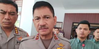 Kapolda Sulsel Irjen Pol Mas Guntur Loupe. (BERITA.NEWS/Abdul Kadir).