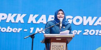 Ketua TP PKK Kabupaten Gowa, Priska Paramita Adnan. (BERITA.NEWS/Putri).