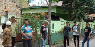 Suasana rumah milik Cakades Desa Bulu Loe nomor urut 4. (BERITA.NEWS/Muh Ilham).