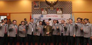 Wakil Bupati Bantaeng bersama peserta Latpim III. (BERITA.NEWS/Saharuddin).