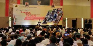 Konsolidasi DAK Infrastruktur 2020 Wilayah Indonesia Timur. (BERITA.NEWS/Andi Khaerul).