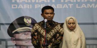 Kapolres Bantaeng, AKBP Adip Rojikan bersama Istri. (BERITA.NEWS/Saharuddin).