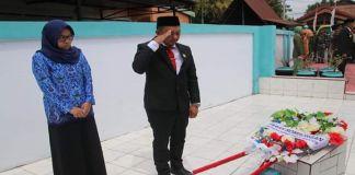 Ketua DPRD Bulukumba Pimpin Ziarah di TMP Andi Sulthan Daeng Radja.(BERITA.NEWS/IL).