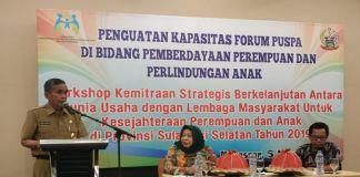 Kepala DPPPA Sulsel Ilham A Gazaling. (BERITA.NEWS/Andi Khaerul).