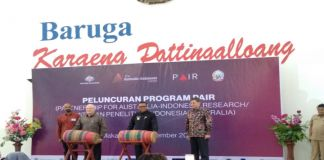 Peluncuran Program Pair (Partnership For Australia - Indonesia Research/ Kemitraan Penelitian Indonesia-Australia. (BERITA.NEWS/Andi Khaerul).