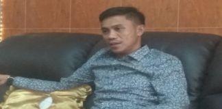 Ketua DPRD Bantaeng Hamsyah Ahmad saat ditemui di ruang kerjanya. (BERITA.NEWS/Saharuddin).