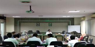 Pembahasan RAPBD 2020 di Komisi A Gedung Tower DPRD Sulsel. (BERITA.NEWS/Andi Khaerul).