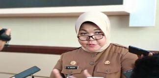 Kepala Biro Pengeola Barang dan Aset Setda Sulsel Nurlina. (BERITA.NEWS/Andi Khaerul).