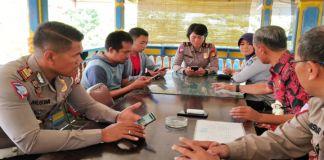 Rapat Koordinasi Dishub dan Satlantas Polres Gowa terkait Sistem Satu Arah. (Foto: BERITA.NEWS/Putri).