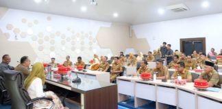Laporan: Putri FOTO: Kunjungan Dinas Perpustakaan dan Arsip (DPK) Pemerintah Provinsi Sulawesi Selatan ke Kabupaten Gowa. (Foto:BERITA.NEWS/Putri).