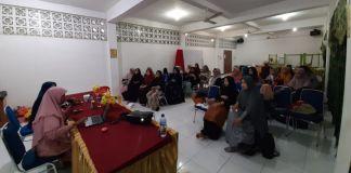 Orangtua siswa TKIT Al Fityan Gowa saat melakukan seminar parenting. (Foto: BERITA NEWS/Putri).