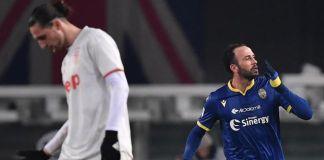 Klasemen Liga Italia Usai Juventus Dikalahkan Verona Verona kalahkan Juventus 2-1. (Photo by MARCO BERTORELLO / AFP)