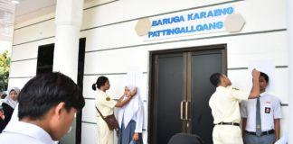 Proses penyeleksian Paskibraka 2020 siswa-siswi Kabupaten Gowa. (Foto: BERIT.NEWS/Putri).