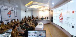 Peresmian Peace Room yang dihadiri seluruh kepala OPD lingkup Pemkab Gowa. (Foto: BERITA.NEWS/Putri).