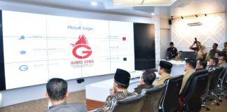 Peresmian logo baru Humas Pemkab Gowa disaksikan langsung Bupati Adnan Purichta Ichsan, Wabup Gowa dan seluruh jajaran. (Foto: BERITA.NEWS/Putri).