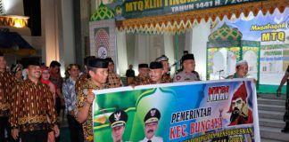 Peserta MtQ dari sejumlah kecamatan di Kabupaten Gowa. (Foto: BERITA.NEWS/Putri).