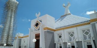 Masjid Agung syekh Yusuf Kabupaten Gowa. (Foto: Ist).