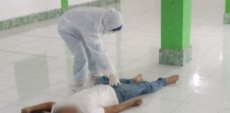 Jamaah Meninggal Saat Shalat Jumat Berjamaah di Bogor. (Int)