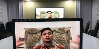 Bupati Gowa, Adnan Purichta Ichsan saat menjadi narasumber pada Bincang Tentang Negeri. (Foto: berita.news/Putri).