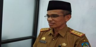 Kepala Dinas Sosial Kabupaten Gowa, Syamsuddin Bidol. (Foto: berita.news/Putri).