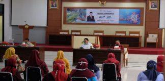 Kunjungan Kementrian Kelautan dan Perikanan RI yang bekerjasama Komisi IV DPR RI. (Foto: berita.news/Putri).