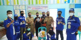 Pendistribusian paket sembako oleh Pemkab Gowa melalui Dinas Sosial Kabupaten Gowa. (foto: berita.news/Putri)