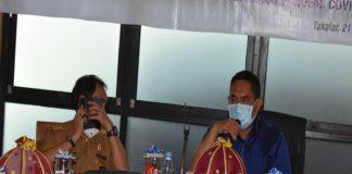 Wakil Bupati Takalar H Achmad Daeng Se're pimpin rapat hld diruang Sekda kantor Bupati Takalar. (Dok. Foto Humas Pemkab).